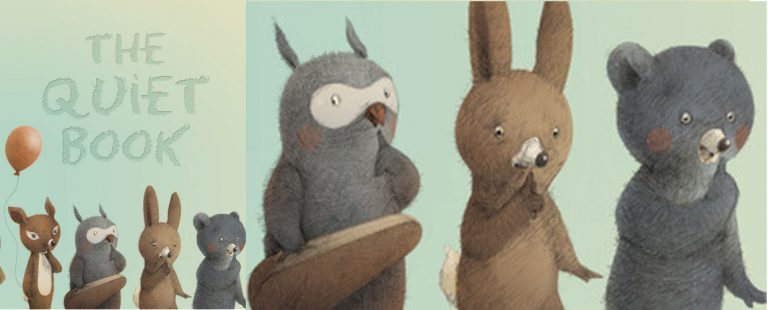 The Quiet Book: Picture Book Review by No Water River