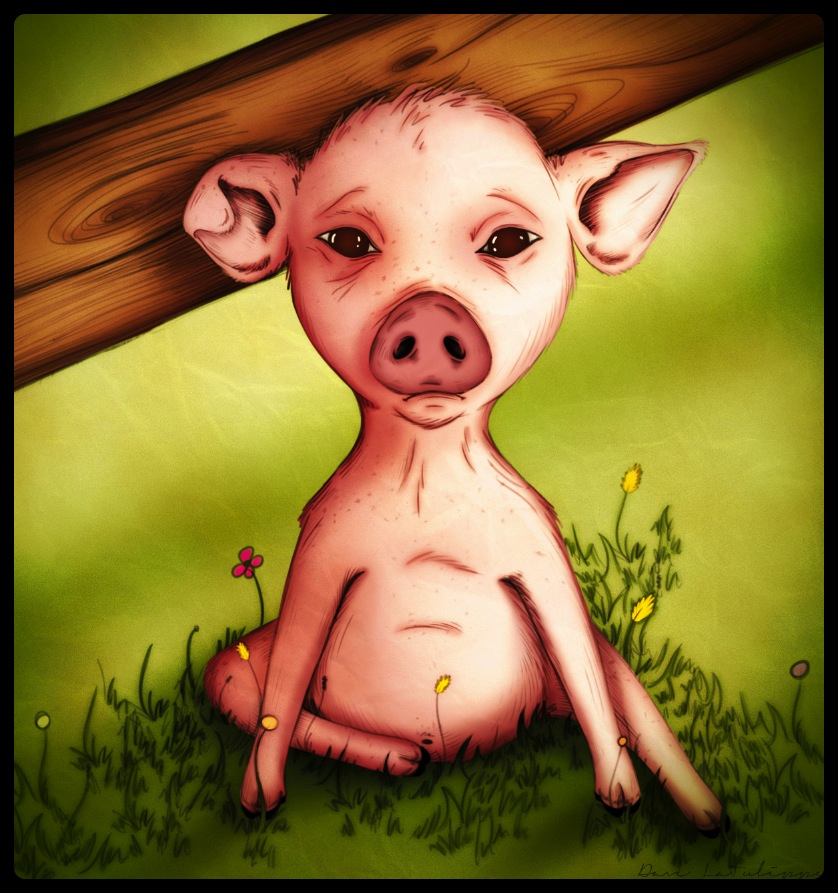 Melancholy Swine by Dave LaTulippe