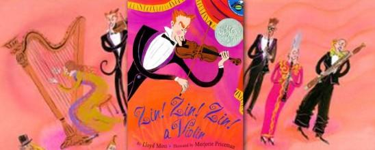 Zin! Zin! Zin! a Violin by Lloyd Moss, Marjorie Priceman
