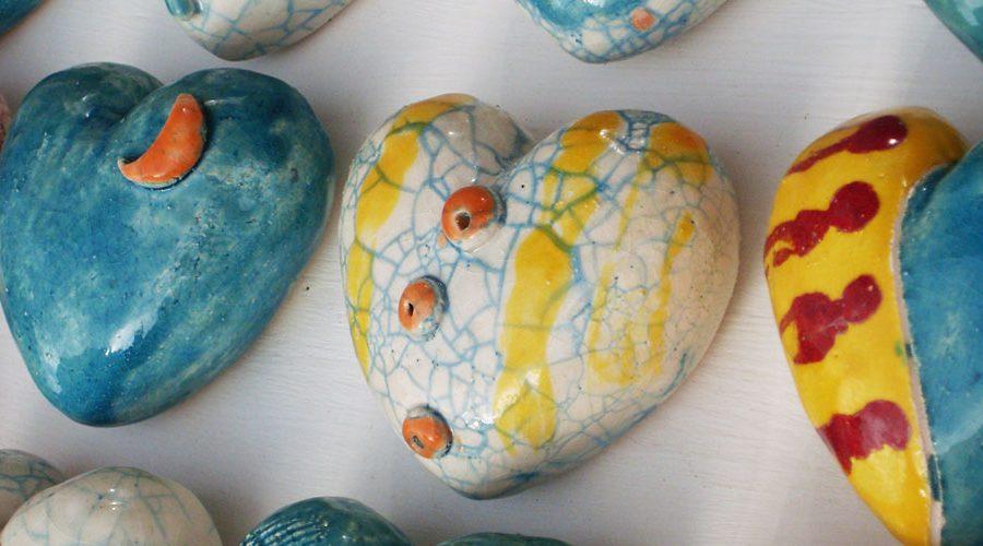 """""""Hearts"""" by Deborah Ciolli"""