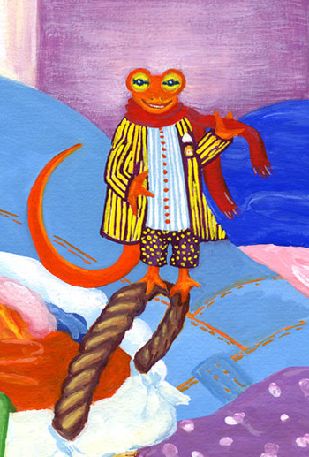A dandy newt am I ~ by Dana Carey