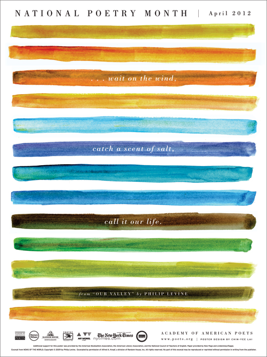 National Poetry Month 2012 poster
