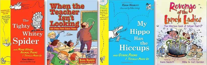 Some of Kenn Nesbitt's Books