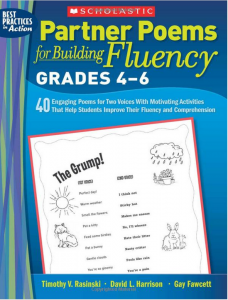 Partner Poems for Building Fluency: poems for two voices by David Harrison, Timothy Rasinski, Gay Fawcett