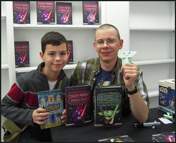 Erik with Angleberger