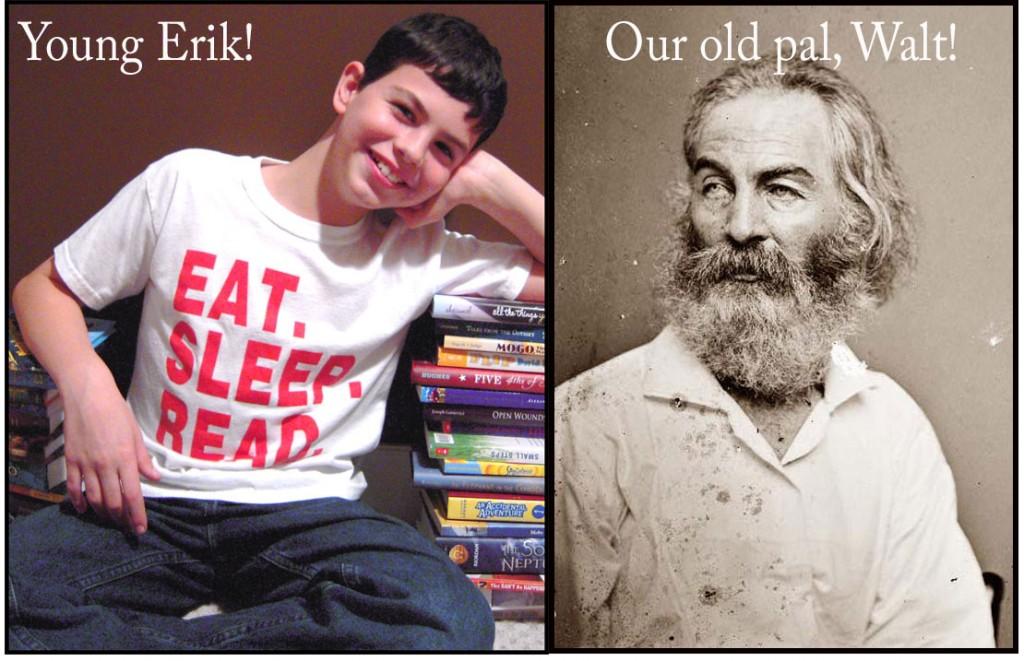 Erik and Walt Whitman