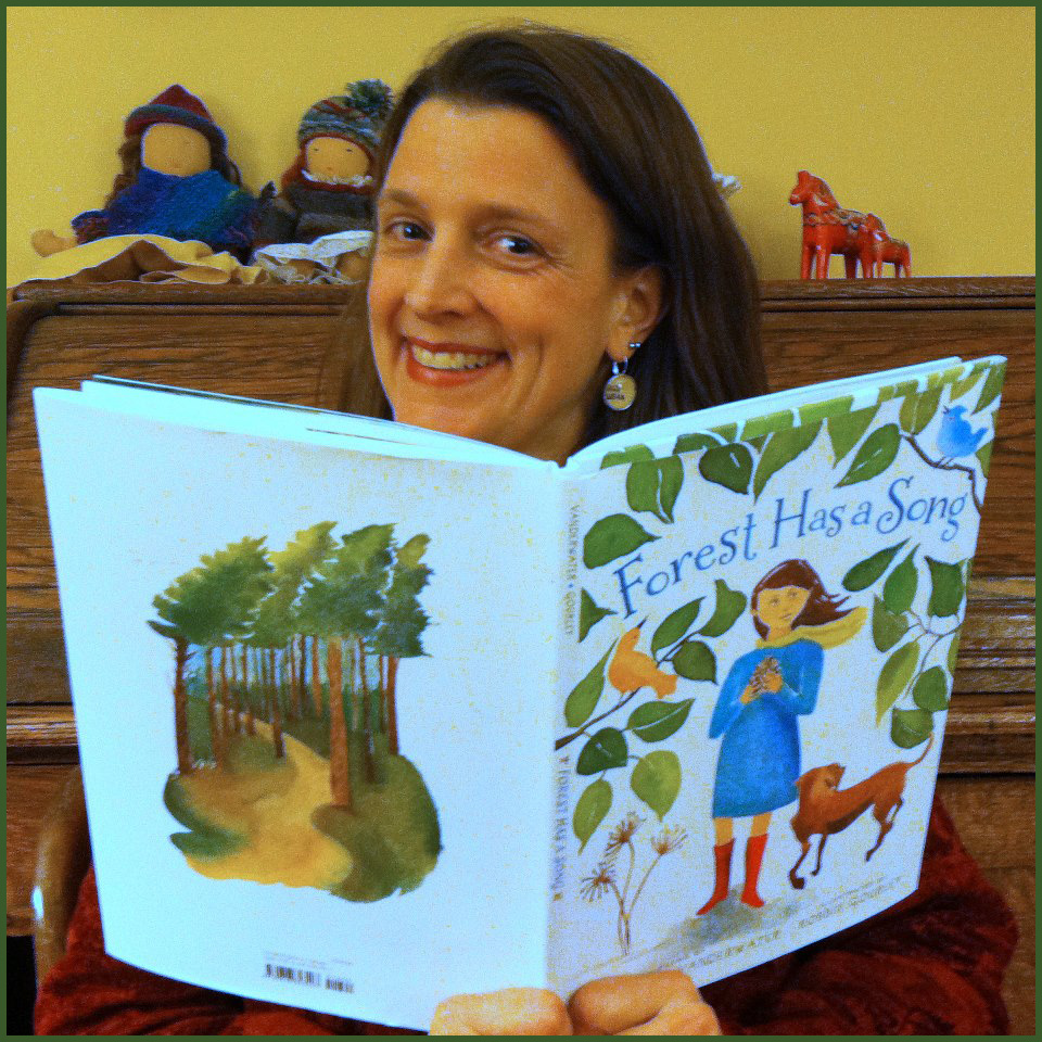 Amy Ludwig VanDerwater with FOREST HAS A SONG