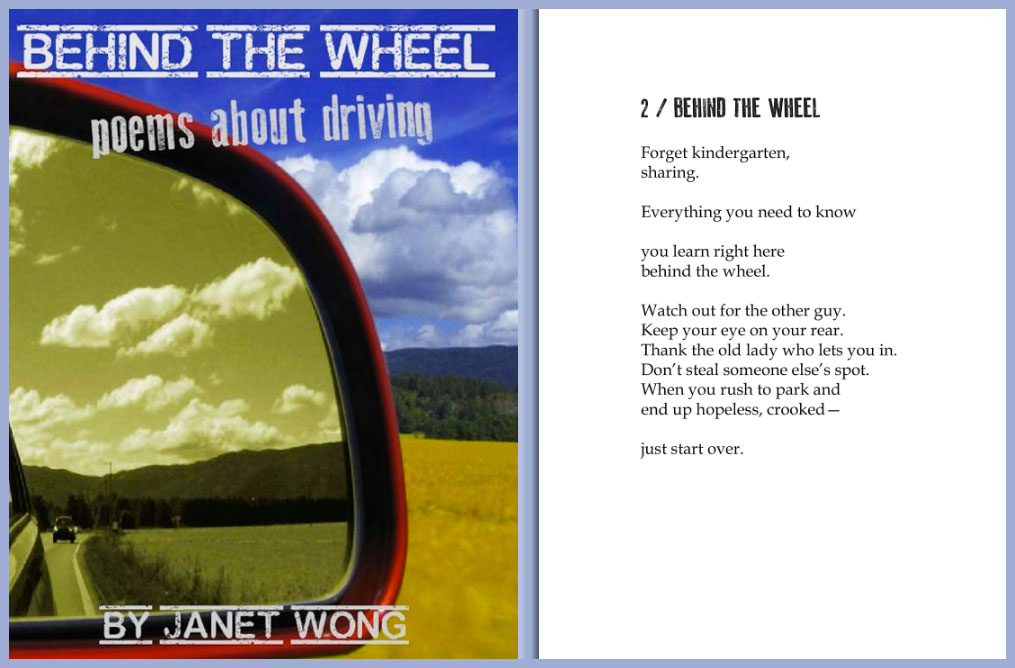 BEHIND THE WHEEL by Janet Wong
