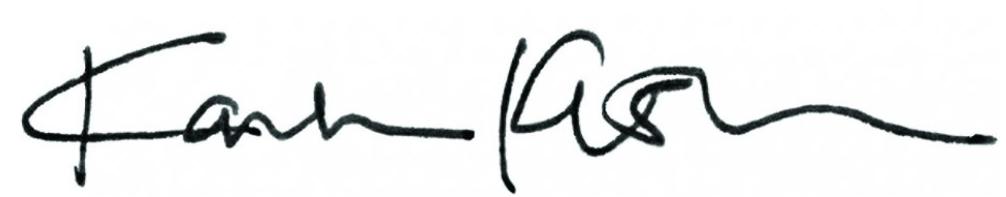 Karla Kuskin signature