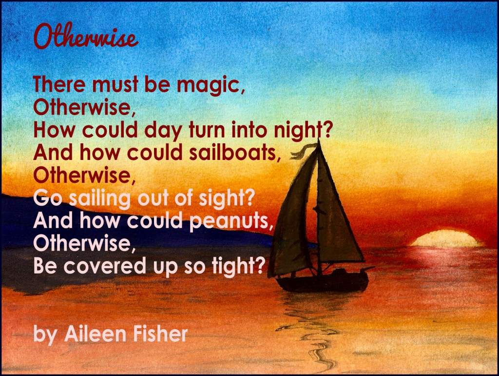 """Otherwise"" by Aileen Fisher"