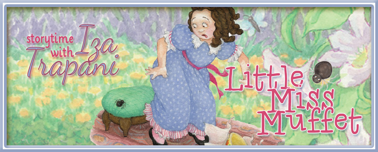 Little Miss Muffet by Iza Trapani - featured