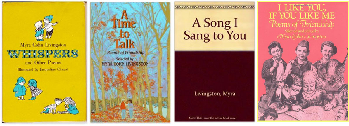 myra cohn livingston book-covers1