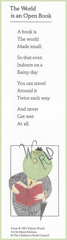 bookmark-poem