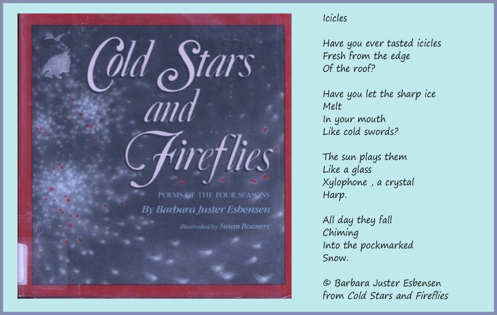 icicles-poem