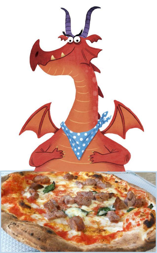 DRAGON-pizza
