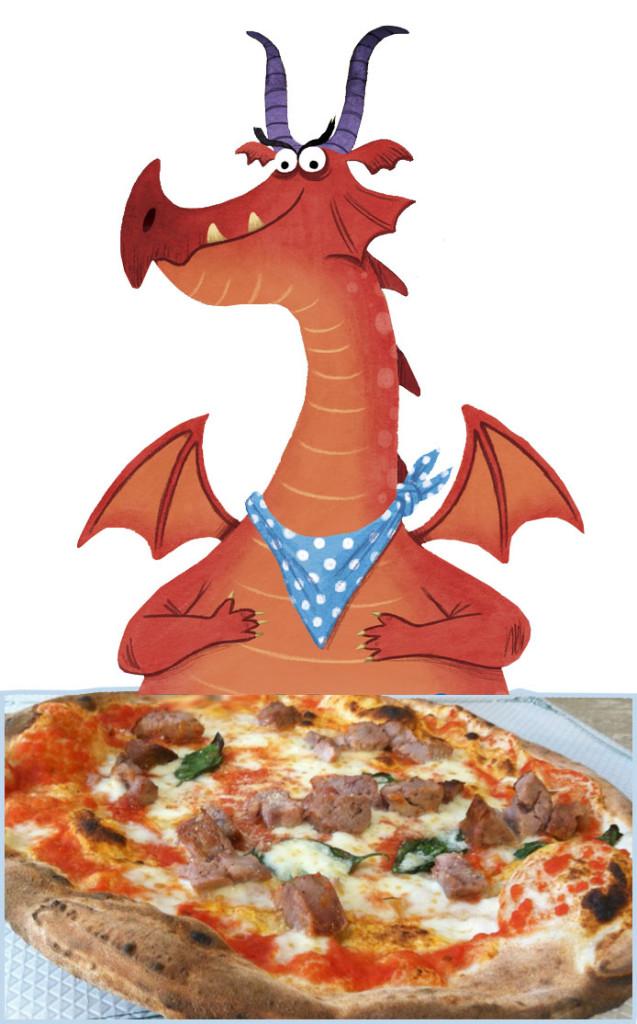 DRAGON-pizza