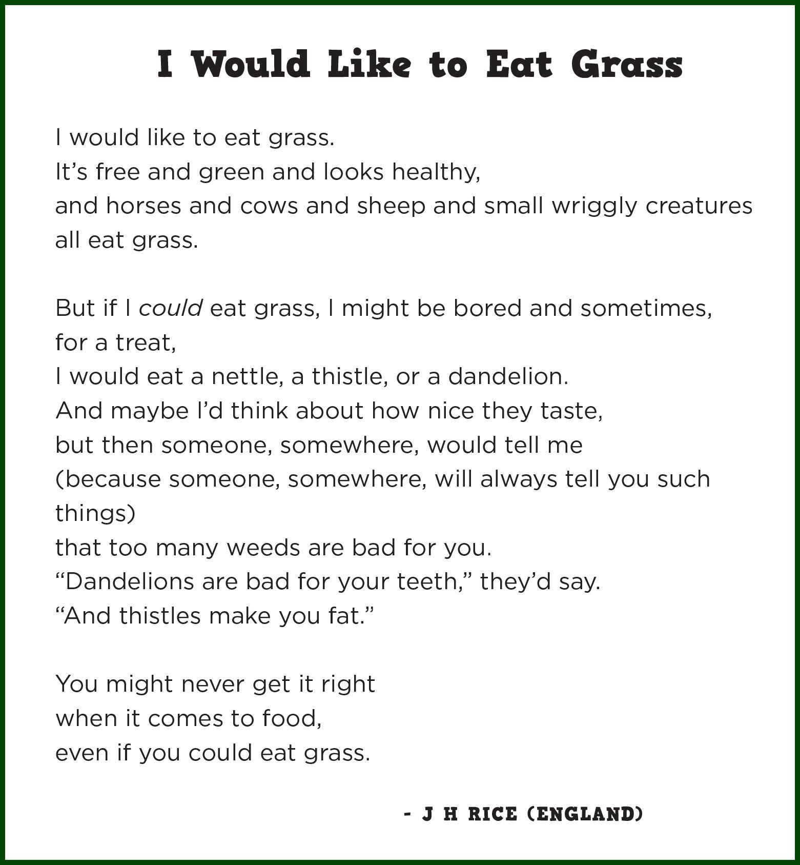 i am australian poem