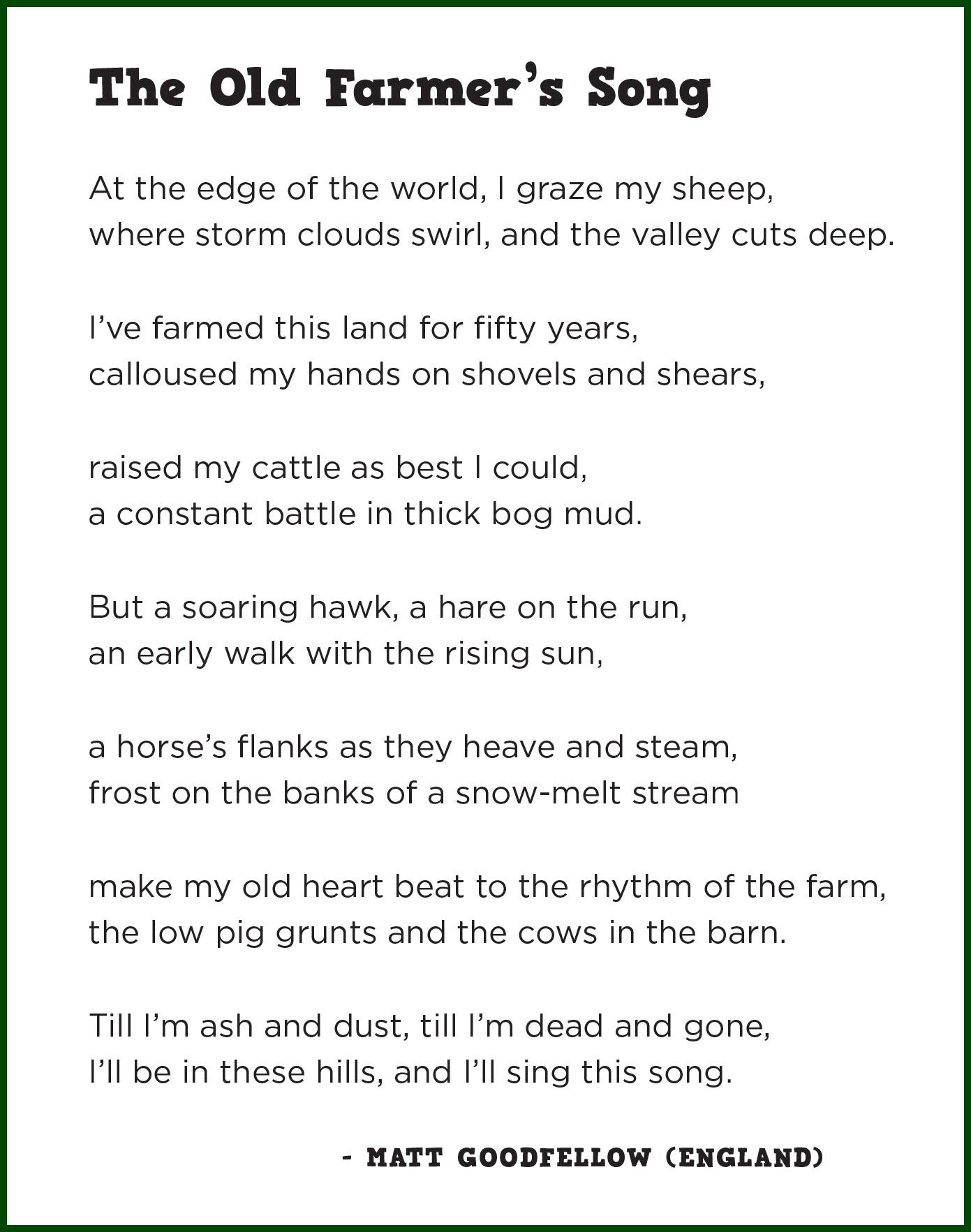 my england poem