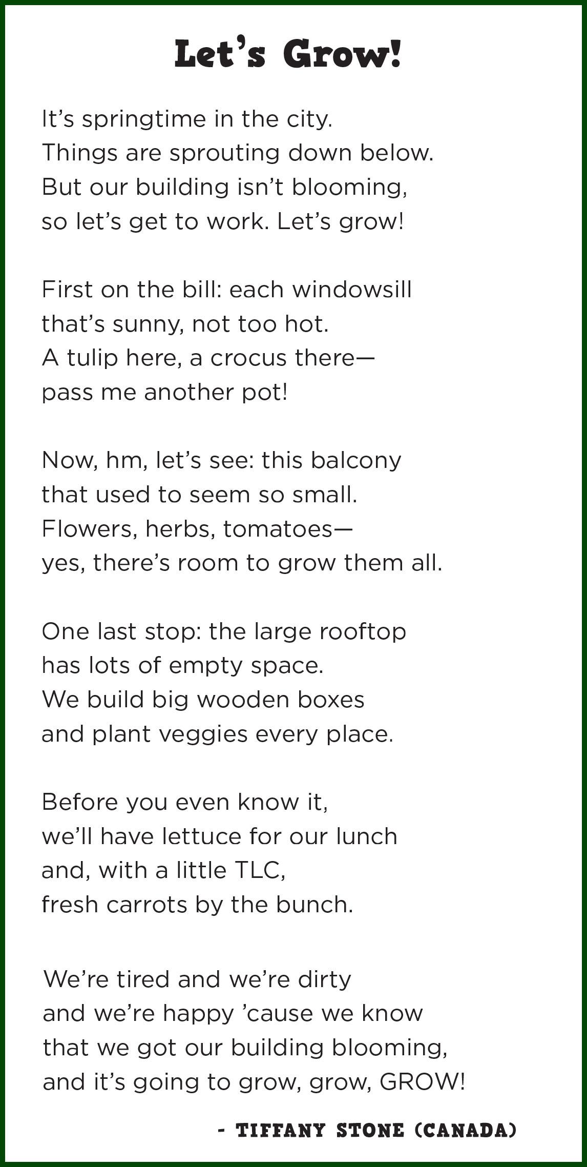 The Dear Tomato Poet A Palooza Renee Latulippe No