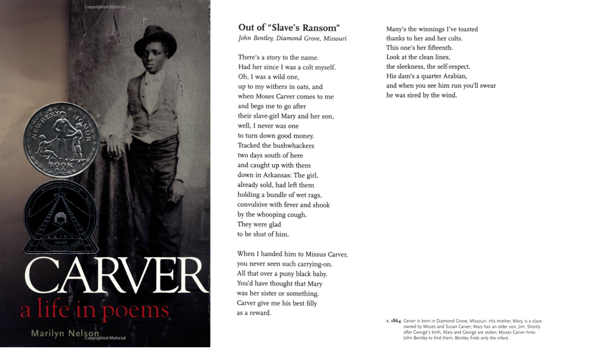 carver a life in poems summary